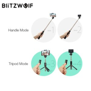 BlitzWolf 3 in 1Selfie Stick