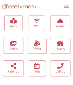 Restaurant Virtual QR Code Food Menu
